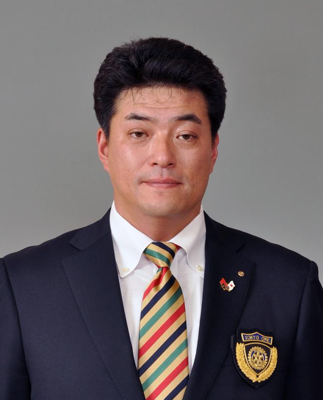 東京青梅ロータリークラブ会長 宮川 直明